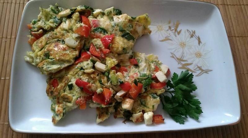 omletă_legume