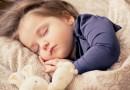 Somnul copilului înainte și după 3 ani