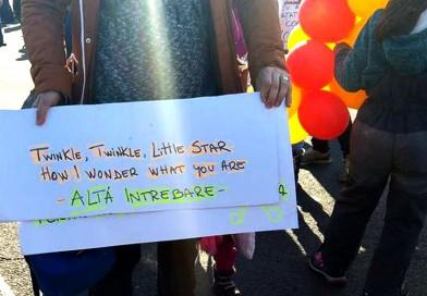 Marșul copiilor: Colorat, bun, cald, inocent | FOTO