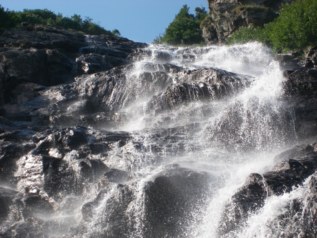 Obiective turistice Transfagarsan- Cascada Capra